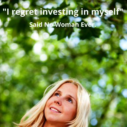 The best investment you´ll ever make is in yourself.